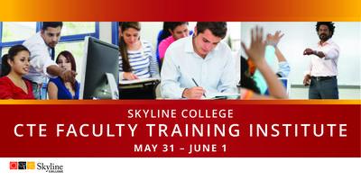 2017 Skyline College CTE Training Institute
