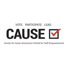 CAUSE Center for Asian Americans United for Self Empowerment logo