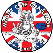 The Land Rover Muddy Chef Challenge logo