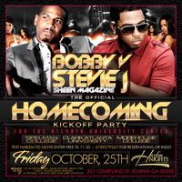 Stevie J and Bobby V Host Fahrenheit Friday at Harlem N...