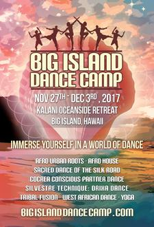 Big Island Dance Camp logo