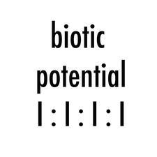 Biotic Potential logo