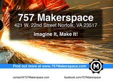 757 Makerspace Community Workshop and Studios logo