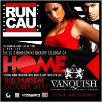 The 2013 CAU Homecoming Kickoff Celebration @ Vanquish