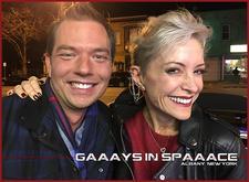 GAAAYS IN SPAAACE & DAN DEEVY logo