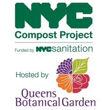 NYC Compost Project hosted by Queens Botanical Garden logo
