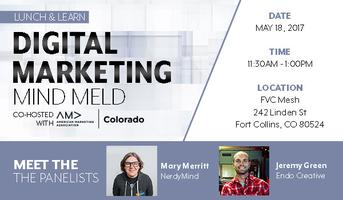 Digital Marketing Mind Meld - Lunch n' Learn