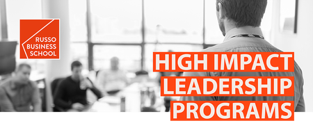 High Impact Leadership Program - The Innovation...