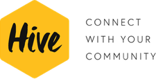 The Realization Group and The Hive Network logo