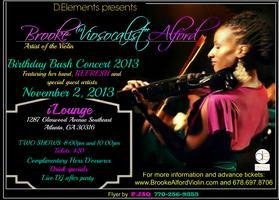 "Brooke ""Viosocalist"" Alford Birthday Bash Concert 2013"