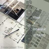 Workshop Kleur en Interieur bij C-More Concept Store
