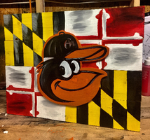 MD Flag / ORIOLES PAINT NIGHT!