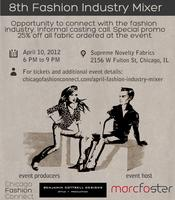 Apr 2012 Fashion Industry Mixer