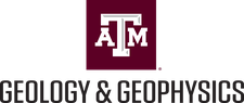 The Department of Geology & Geophysics at Texas A&M logo