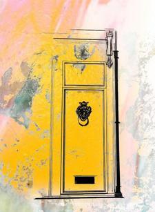 The Little Yellow Door  logo