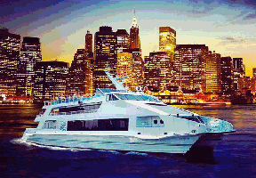 *VIP LUXURY BOAT PARTY! 3 INDOOR/OUTDOOR LEVELS - DJ -...