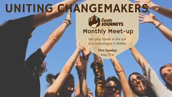 Uniting Changemakers: Earth Journeys Monthly Meet-Up