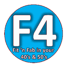 Fit and Fabulous In Your 40's and 50's  logo