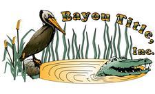 Bayou Title, Inc. logo