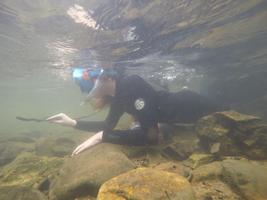 Snorkeling in Whitetop-Laurel with Blue Ridge...