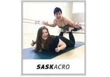 SaskAcro logo