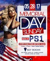 Memorial Day Wknd Sunday at SKY ROOM with Everyone...