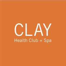 CLAY Health Club + Spa logo