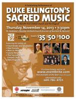 DUKE ELLINGTON'S SACRED MUSIC CONCERT 2013