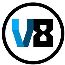 V8 Academy logo