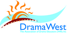 DramaWest logo