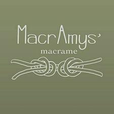 MacrAmys' Macrame logo