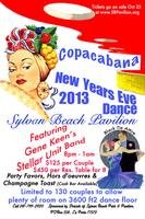 Copacabana New Years Eve Dance at the Sylvan Beach Pavilion
