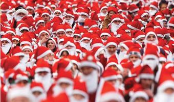 Wimbledon Common Santa Dash