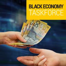 Black Economy Taskforce logo