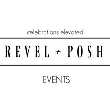 Revel + Posh Events and PR logo