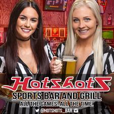 Hotshots Sports Bar & Grill logo