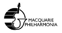 Macquarie Philharmonia  logo