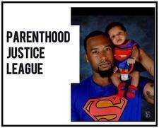 Parenthood Justice League logo