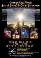 Gemini New Moon Sacred Sound & Cacao Ceremony
