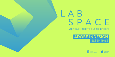 Adobe InDesign Essentials Course MELBOURNE Labspace