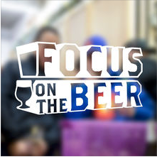 Focus on the Beer logo