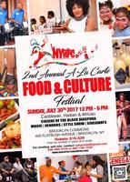 "2nd FOOD & CULTURE FESTIVAL ""A LA CARTE"""