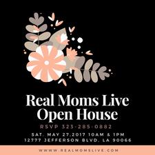 Real Moms Live logo