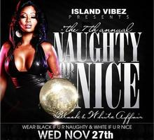 7th ANNUAL NAUGHTY OR NICE Black & White Affair