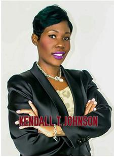 "Kendall T Johnson ""KTJ Motivates"" logo"