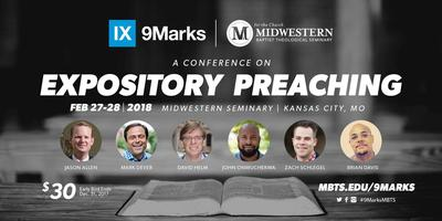 9Marks Conference on Expository Preaching