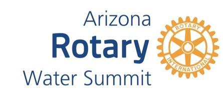 2017 Arizona Rotary Water Summit