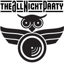 The All Night Party logo