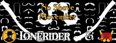 No Shave Movember Mustache Contest & Charity Event