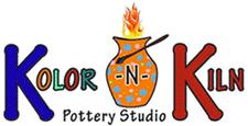 Kolor-N-Kiln Pottery Studio logo